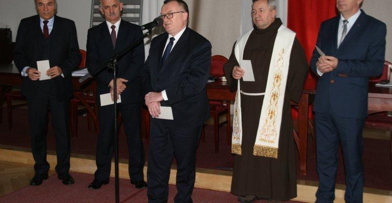 Spotkanie opłatkowe Rady Powiatu Rzeszowskiego
