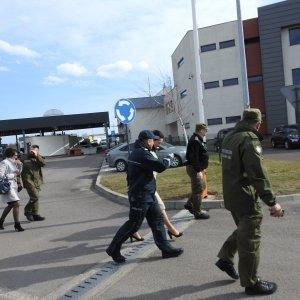 Wizyta wojewody na przejściu granicznym w Medyce