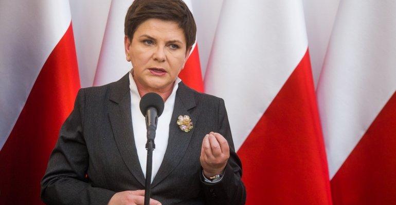 Premier Beata Szydło w województwie podkarpackim