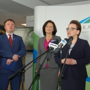 Coraz bliżej dobrej szkoły – wdrażanie reformy edukacji, wizyta minister Anny Zalewskiej