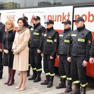 """""""SpoKREWnieni służbą"""" - podkarpaccy strażacy oddali krew"""