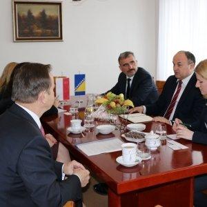 Kurtuazyjna wizyta ambasadora Bośni i Hercegowiny
