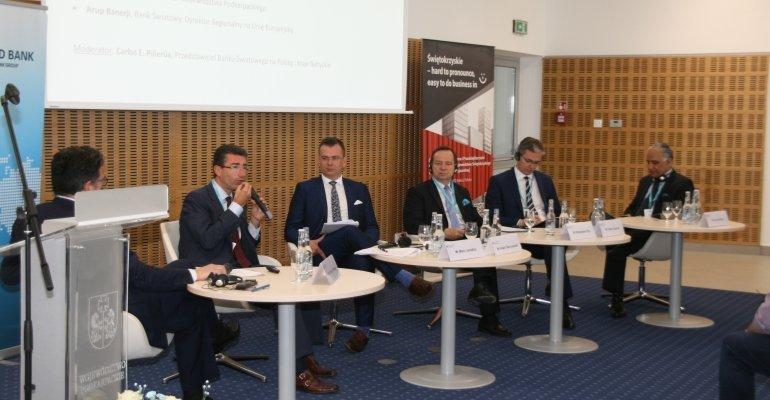 Konferencja gospodarcza z udziałem wicewojewody
