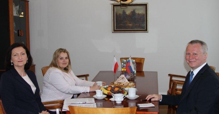 Wizyta Konsula Generalnego Republiki Słowackiej