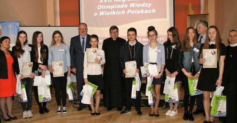 Regionalna Olimpiada Wiedzy o Wielkich Polakach