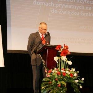 Wicepremier Jarosław Gowin w Jaśle