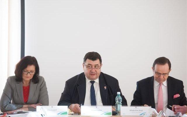Posiedzenie Prezydium Wojewódzkiej Rady Dialogu Społecznego