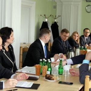 Spotkanie poświęcone organizacji forum gospodarczego