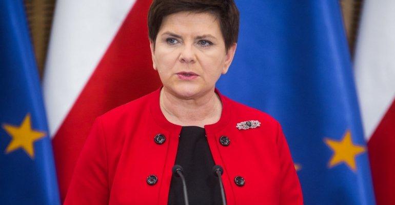 Premier Beata Szydło na spotkaniu samorządów