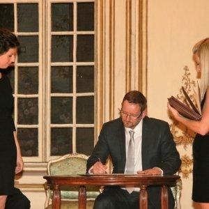 """Podpisanie deklaracji założycielskiej Międzynarodowego Festiwalu Sztuki """"TRANS/MISJE"""""""