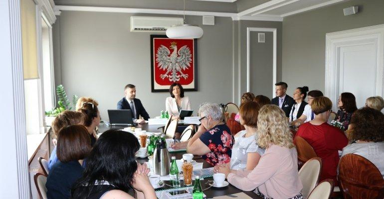 Spotkanie przewodniczących powiatowych zespołów do spraw orzekania o niepełnosprawności