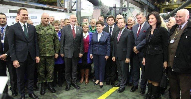 Premier Beata Szydło w Stalowej Woli