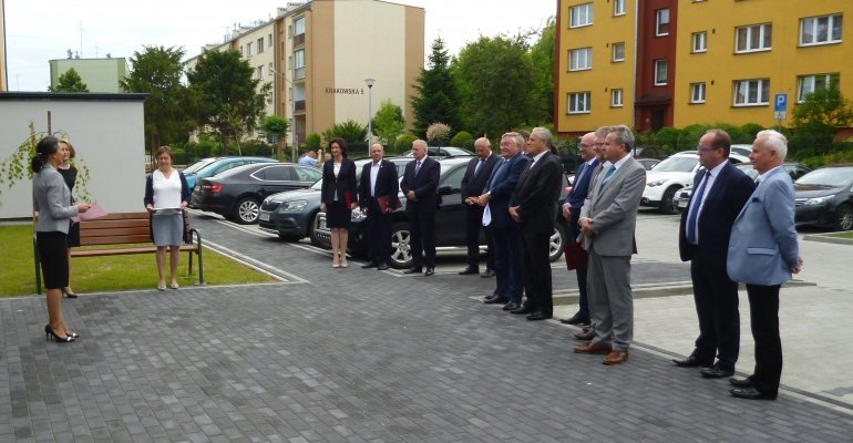 Owtarcie Powiatowej Stacji Sanitarno-Epidemiologicznej w Dębicy po modernizacji
