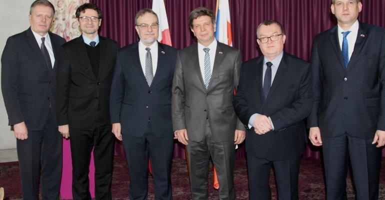 Posiedzenie Polsko-Słowackiej Komisji Międzyrządowej