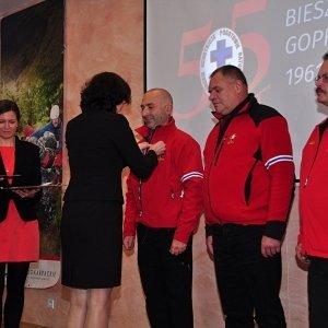 55 lat Bieszczadzkiej Grupy GOPR