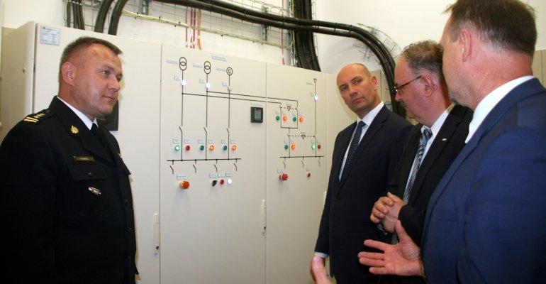 Wizyta sekretarza stanu w MSWiA Sebastiana Chwałka