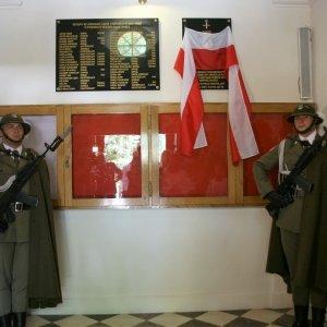Odsłonięcie tablicy upamiętniającej Ignacego Bielawskiego