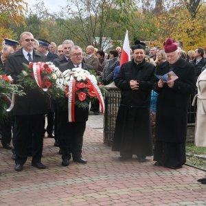 Uroczystości w Orzechowcach