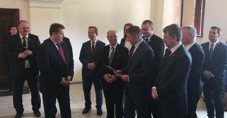Przekazanie parlamentarnego wymiaru prezydencji w Grupie Wyszehradzkiej