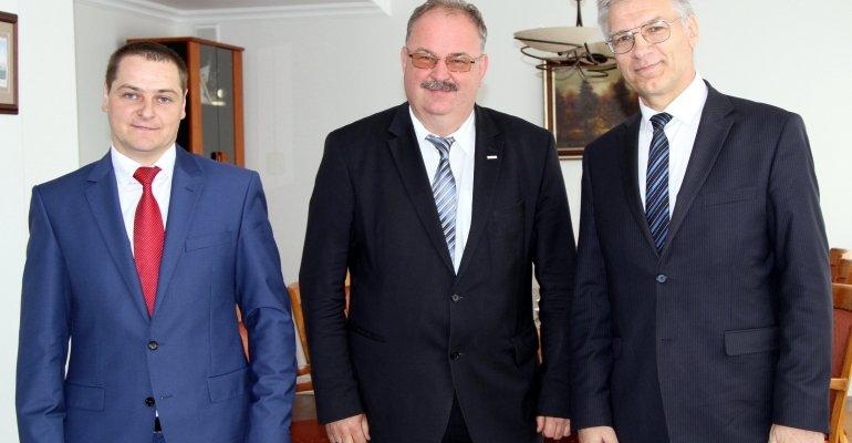 Kurtuazyjna wizyta konsula Białorusi