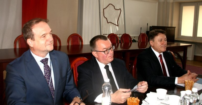 Posiedzenie Wojewódzkiego Zespołu Zarządzania Kryzysowego