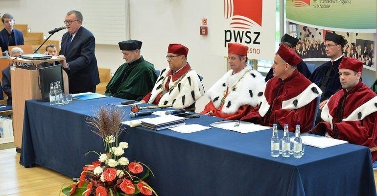 Inauguracja roku w Państwowej Wyższej Szkole Zawodowej w Krośnie