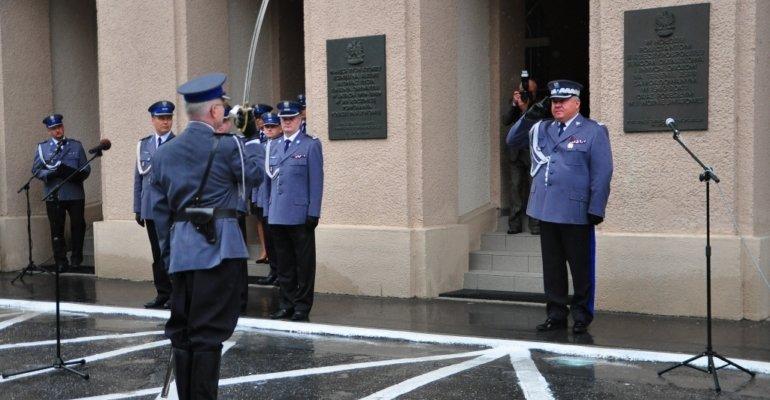 Gratulacje dla nadinspektora Krzysztofa Pobuty