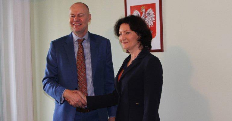 Wizyta Ambasadora Kanady w Polsce Stephena de Boera