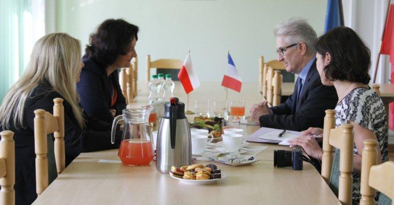 Konsul Generalny Francji z wizytą u wojewody