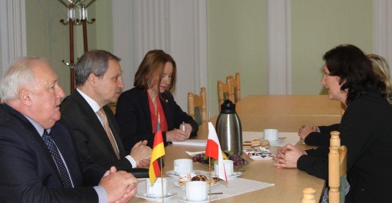 Konsul generalny Niemiec z wizytą u wojewody