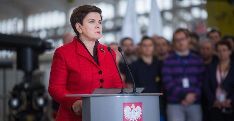Premier Beata Szydło w Mielcu