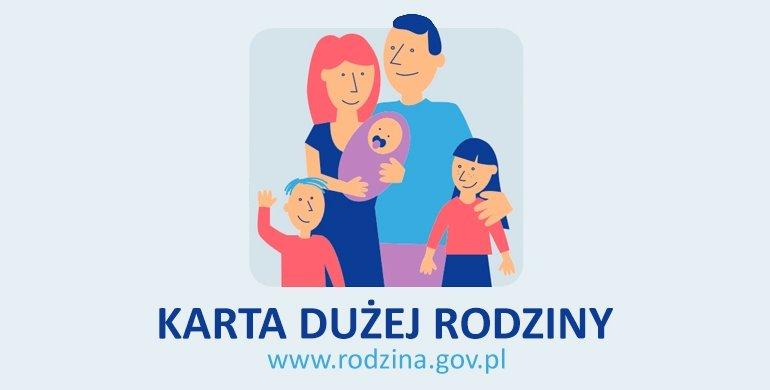 Karta Dużej Rodziny – program wsparcia rodzin wielodzietnych
