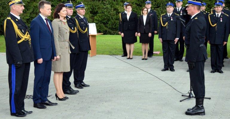 Wizyta ministra Błaszczaka