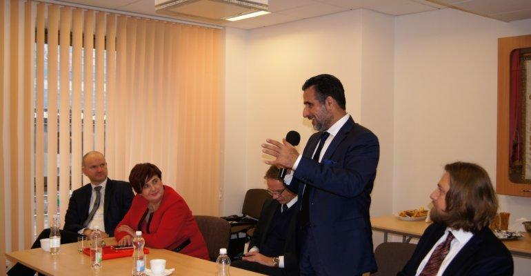 Spotkanie z delegacją z Arabii Saudyjs
