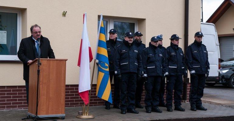 Posterunek policji w Niebylcu