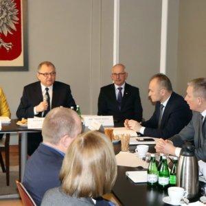 Posiedzenie z udziałem wiceministra rolnictwa