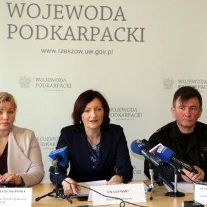 Konferencja prasowa wojewody