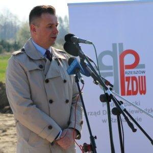 Inauguracja budowy obwodnicy Kolbuszowe