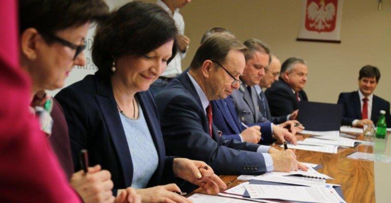 Podpisanie porozumienia