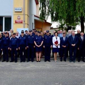 Otwarcie posterunku Policji w Krzeszowie