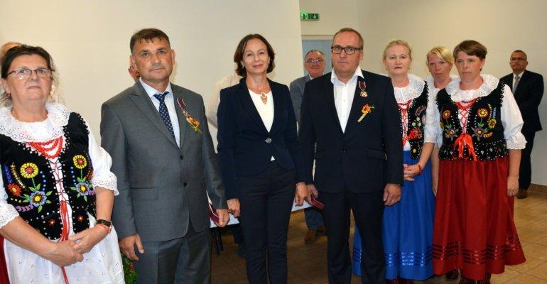 Uroczystość w gminie Laszki