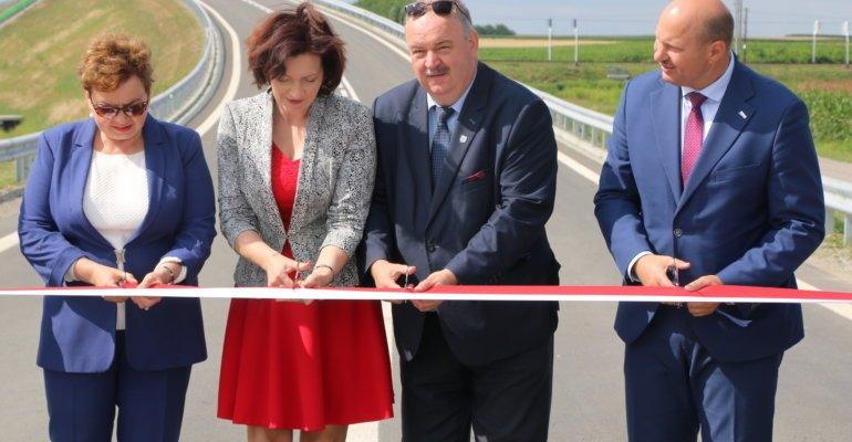 Zakończenie inwestycji drogowej