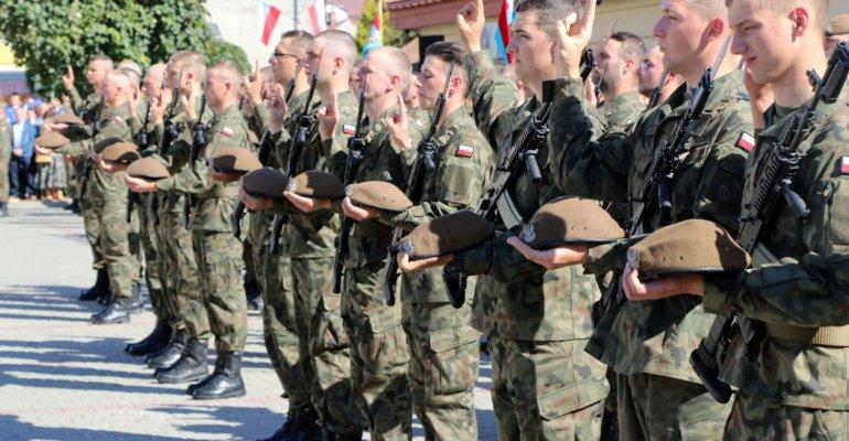 Uroczysta przysięga wojskowa