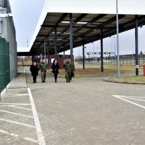 Wizyta na przejściach granicznych