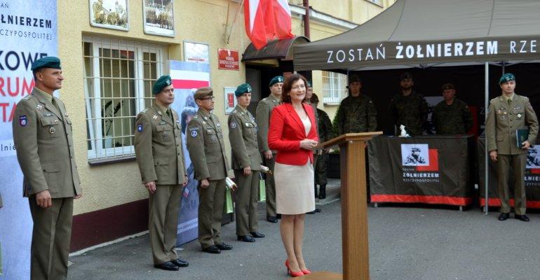 Inauguracja Wojskowe Centrum Rekrutacji