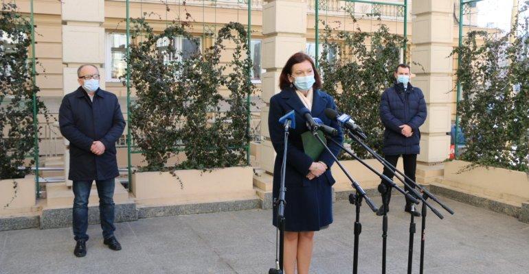 Spotkanie z mediami dotyczące sytuacji epidemicznej