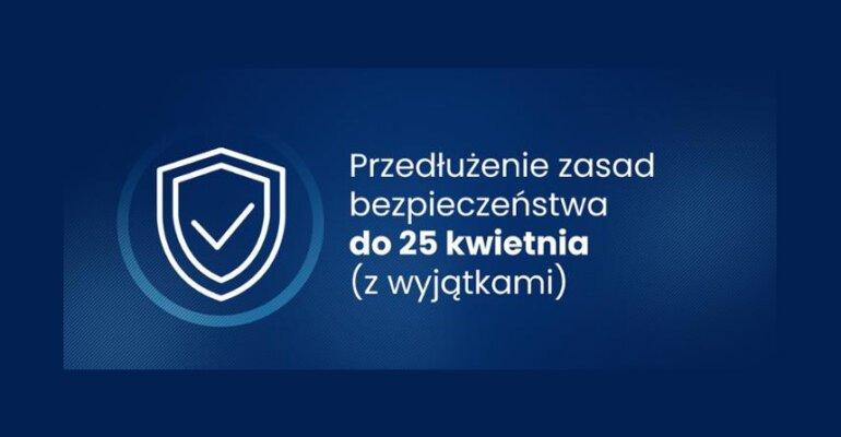 Przedłużenie zasad bezpieczeństwa