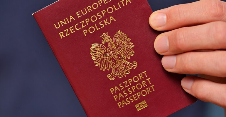 Grafika z paszportem