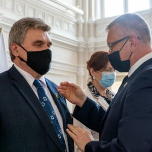 Spotkanie z przedstawicielami Związku Sybiraków