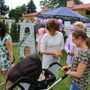 Wizyta w gminie Miejce Piastowe